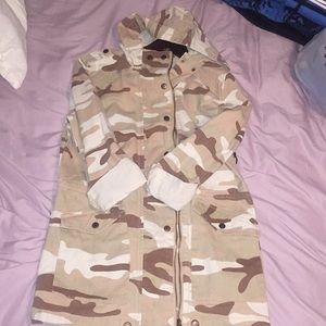 Super dope camo jacket NWT